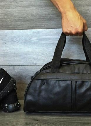 Спортивная Фитнес-сумка / Кожзам