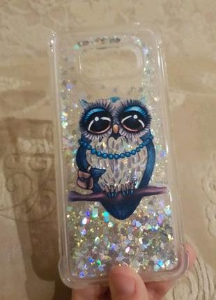 Чехол жидкий для Samsung Galaxy s8 Plus