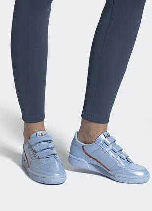 Женские кроссовки adidas originals continental 80 ee5586