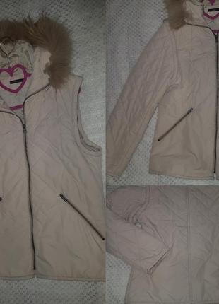 Куртка-жилетка 2 в 1 / трансформер