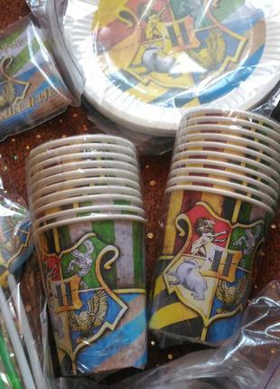 НАБОР Одноразовая детская посуда Гарри Поттер, Египет, Мумия