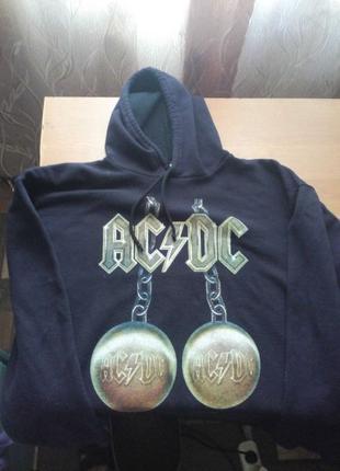 Толстовка рок мерч AC/DC