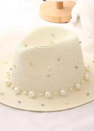 Шикарная женская солнцезащитная летняя шляпа