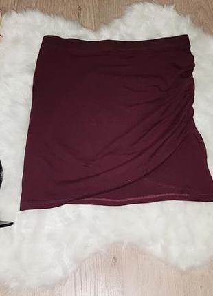 Стильная коттоновая юбка от h&m