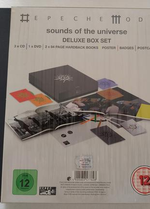 Depeche Mode Sounds of the Universe (Deluxe 4 Disc Box Set)