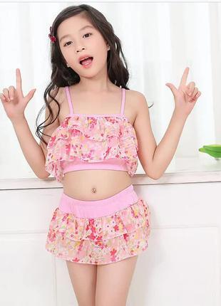 Купальник раздельный для девочки детский дитячий