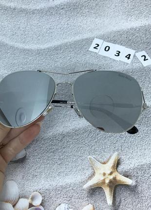 Солнцезащитные очки  серый к. 2034 2