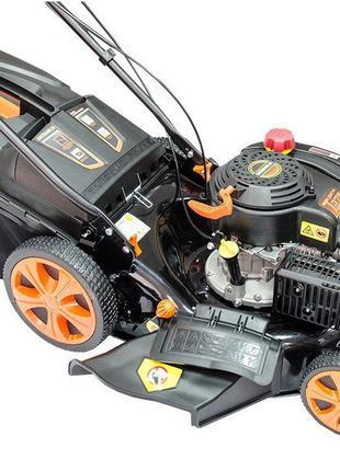 Газонокосилка Grunhelm S461VHY бензиновая. Бесплатная доставка