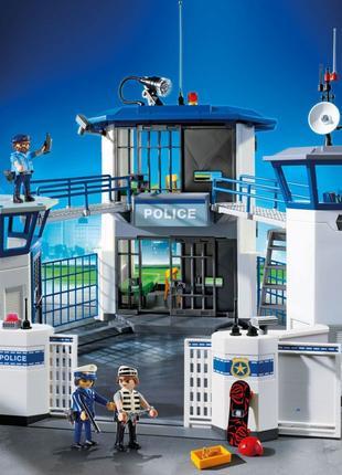Большая тюрьма ,игровой набор Playmobil оригинал.