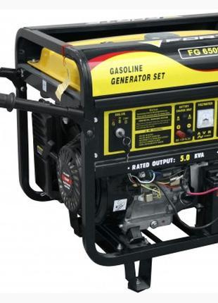 Генератор бензиновый Forte FG6500E с электростартером.