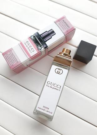 Gucci eau de parfum ii тестер 40 мл, мини-парфюмерия, парфюм, ...