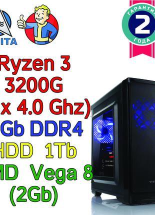 Новый компьютер  AMD 3200G / 8Gb / Vega 8