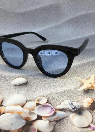 Солнцезащитные очки с синими линзами к. 2333