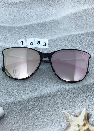 Солнцезащитные очки с розовой линзой  к. 2483