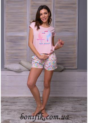 """Комплект молодёжной пижамы из коллекции """"Summer"""" (16291) арт 856"""