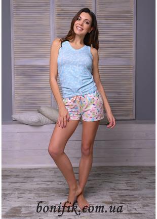 "Комплект пижама с короткими шортами ""Summer"" (16291) арт. 857"