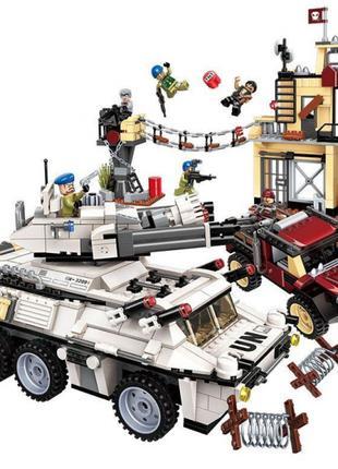 Конструктор 3209 Секретная миссия Захват военной базы, 930 д