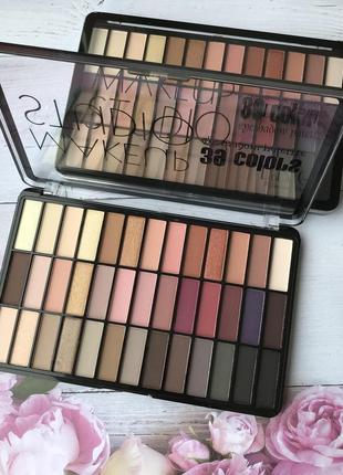 Палитра теней dodo girl 39 colors eyeshadow palette makeup studio