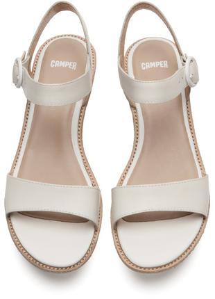 Женские кожаные босоножки camper damas 40-40.5-41 кожа сандалии б