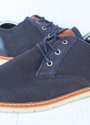 Новые туфли pier one текстиль англия 44.5р