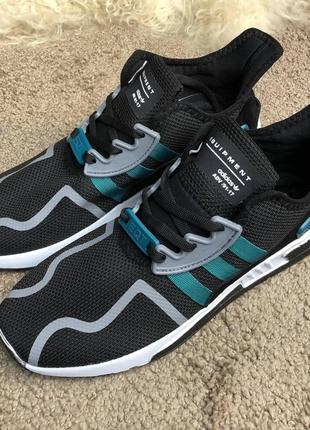 Adidas eqt cushion adv black/green/white