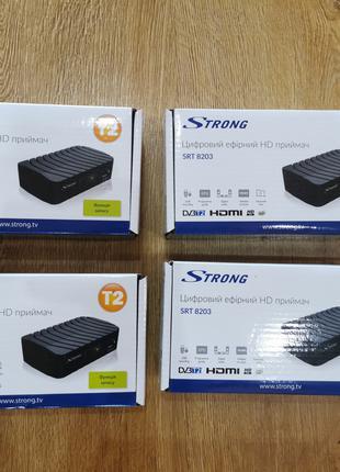 Цифровий ефірний приймач тюнер DVB-T2 Strong SRT 8203 HD