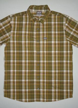 Рубашка jack wolfskin с кор.рукавом (m)