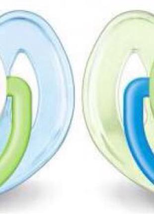 Пустышки Philips Avent для деток 6-18 месяцев