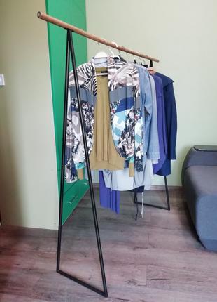 Напольная вешалка, рейл для одежды