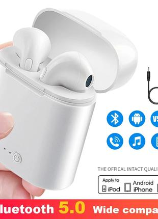 5 Штук, Наушники i7S TWS - Bluetooth Гарнитура