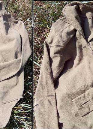 Британская армейская флисовая термокофта последней модели, унисек