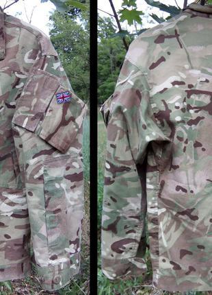 Британская военная полевая куртка для тёплой погоды, MTP