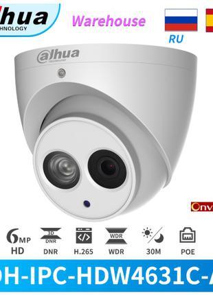 IP камера Dahua DH-IPC-HDW4631C-A 6MP с микрофоном