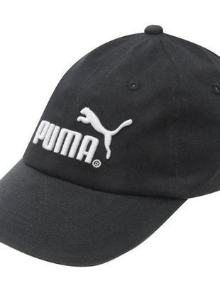 Кепка бейсболка мужская детская puma синяя черная jack cap jun...
