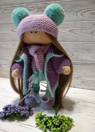 Кукла из ткани ручной работы