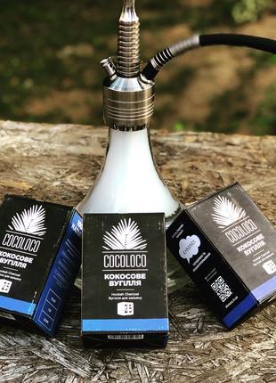 Топовый кокосовый уголь для кальяна Cocoloco
