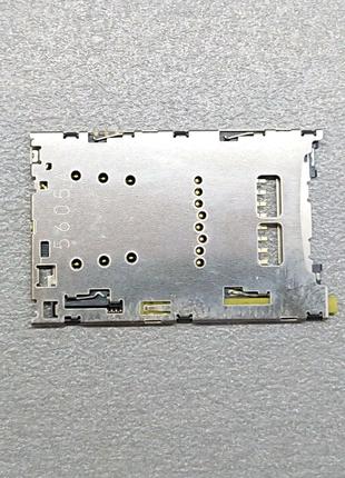 Коннектор SIM+SD Sony Xperia Z5 E6603 E6653 Z3+ E6553 E6853