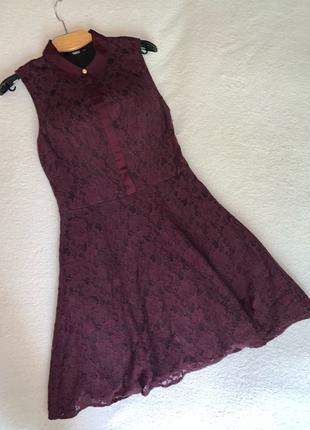 Платье ажурное Oasis размер S/36/10