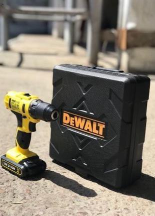 Шуруповерт Dewalt DCD776 18V аккумуляторный 2 батареи КАЧЕСТВО!