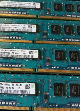 4Gb PC3-12800 DDR3 1600Mhz компьютерная