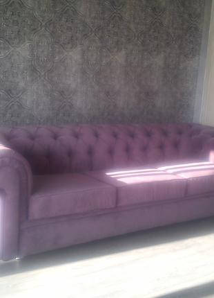Ремонт и перетяжка мягкой мебели Днепр
