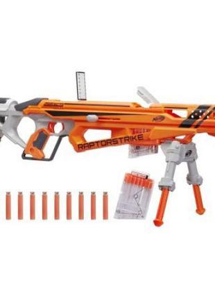 Бластер NERF N-Strike Elite AccuStrike RaptorStrike некомплект