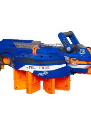 Бластер NERF N-Strike Elite Hail-Fire Blaster