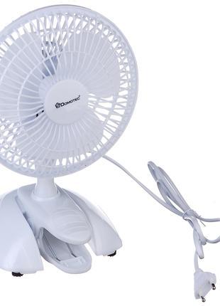 Вентилятор настольный Domotec Fan