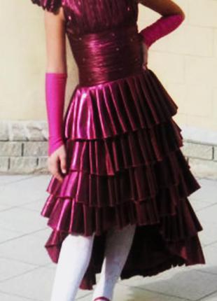 Выпускное праздничное платье для девочки 6-9 лет