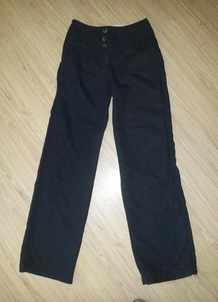Стильные брюки  клеш, лён, Esprit