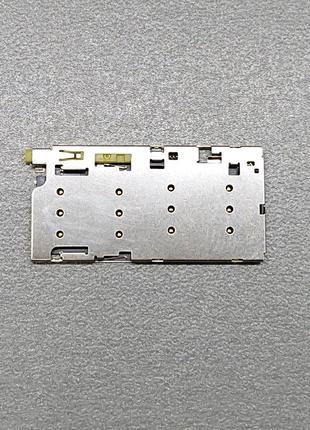 Коннектор SIM Sony Xperia Z5 Dual E6633 E6683 / E6883. 1295-4064