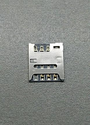 Коннектор SIM  карты SONY Xperia E3 D2202 D2212. A/314-0000-00890