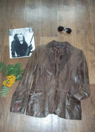 Кожаная куртка винтаж