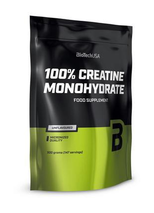 Креатин BioTech 100% Creatine Monohydrate.
